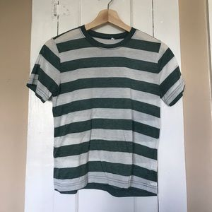 PACSUN basic striped t shirt